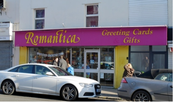 Romantica Cards and Gifts, Bristol