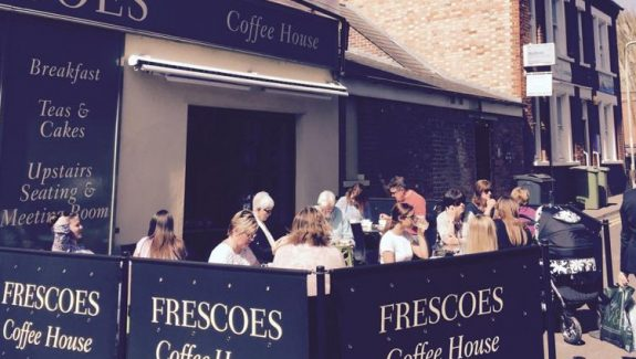 BEDFORD, BEDFORDSHIRE – FRESCOES COFFEE SHOP – LEASEHOLD £65,000 – REF VC336B