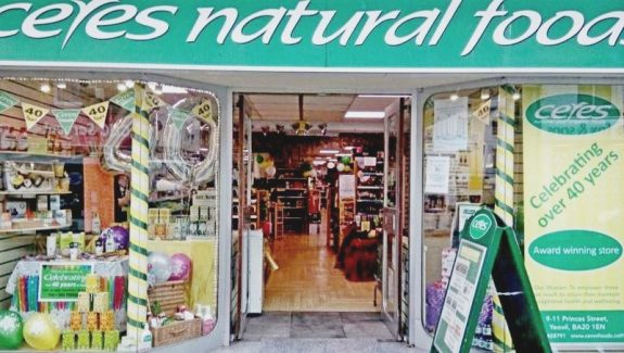 YEOVIL, SOMERSET – TRADITIONAL NATURAL AND ORGANIC HEALTH FOODS STORE – LEASEHOLD £159,950 – REF VSM370S