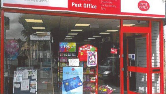 Chatteris Post Office, Cambridgeshire.
